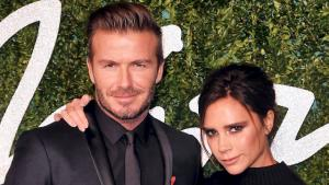 David Beckham og Victoria Beckham til British Fashion Awards 2014.