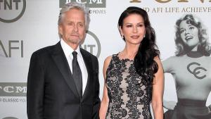 Michael Douglas og Catherine Zeta-Jones.