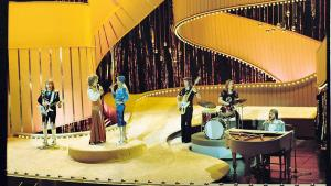 ABBA vandt Eurovision Song Contest i 1974.