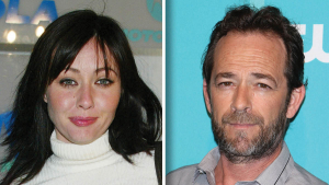 Shannen Doherty og Luke Perry