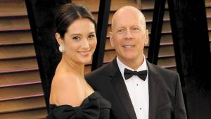 Emma Heming-Willis og Bruce Willis.