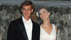 Pierre Casiraghi og Beatrice Borromeo.