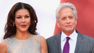 Catherine Zeta-Jones og Michael Douglas