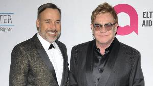 David Furnish og Elton John.