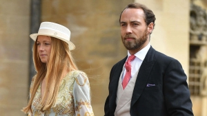 Alizee Thevenet og James Middleton.