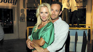 Jennie Garth og Luke Perry