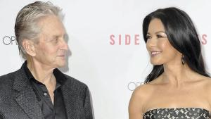 Michael Douglas og Catherine Zeta-Jones