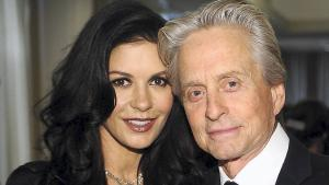 Catherine Zeta-Jones og Michael Douglas.