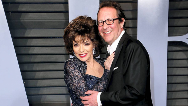Joan Collins og Percy Gibson