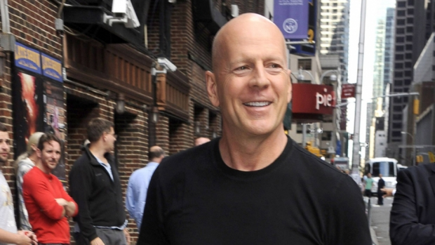 Bruce Willis i New York