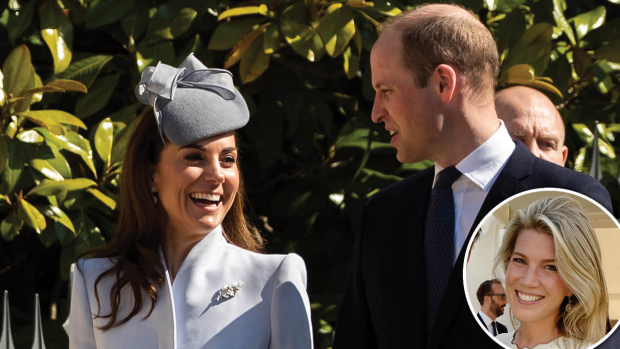 Hertuginde Catherine og prins William. Indsat: Natasha Archer.