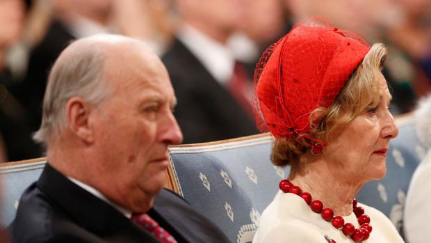 Kong Harald og dronning Sonja holder jul 2013