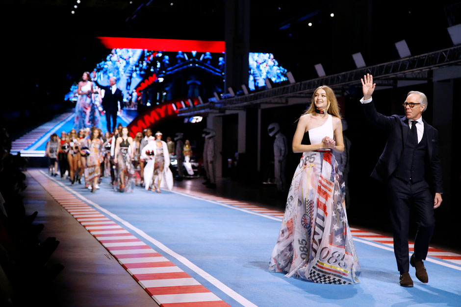 Tommy Hilfiger FW18 Milano modeuge