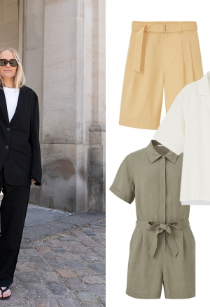 10 stilede items i linned fra Uniqlo
