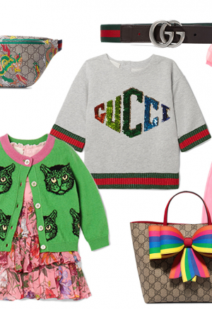 Cuteness-alert: Guccis børnekollektion 'popper up' på Net-a-porter