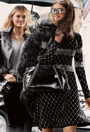 Edie Campbell, Taylor Hill og Romee Strijd i front for Michael Kors Fall 2017 kampagne