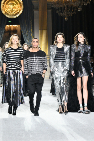 Balmain: Her er Oliver Rousteings army anno 2018