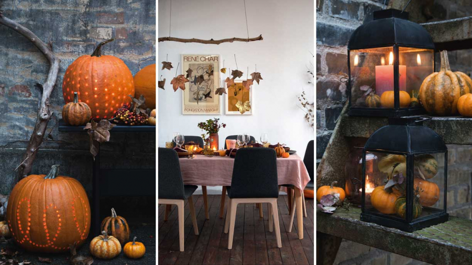 DIY halloween dekorationer og ideer til indendørs og udendørs DIY halloween decorating ideas