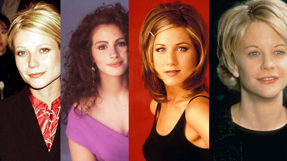julia roberts, gwyneth paltrow, meg ryan, jennifer aniston
