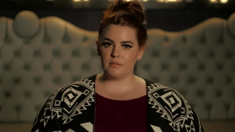 Tess Holliday er plus size model