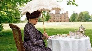 Maggie Smith som the Countess of Grantham i Downton Abbey
