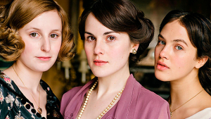 Downton Abbey: Lady Sibyl, Lady Mary, Lady Edith