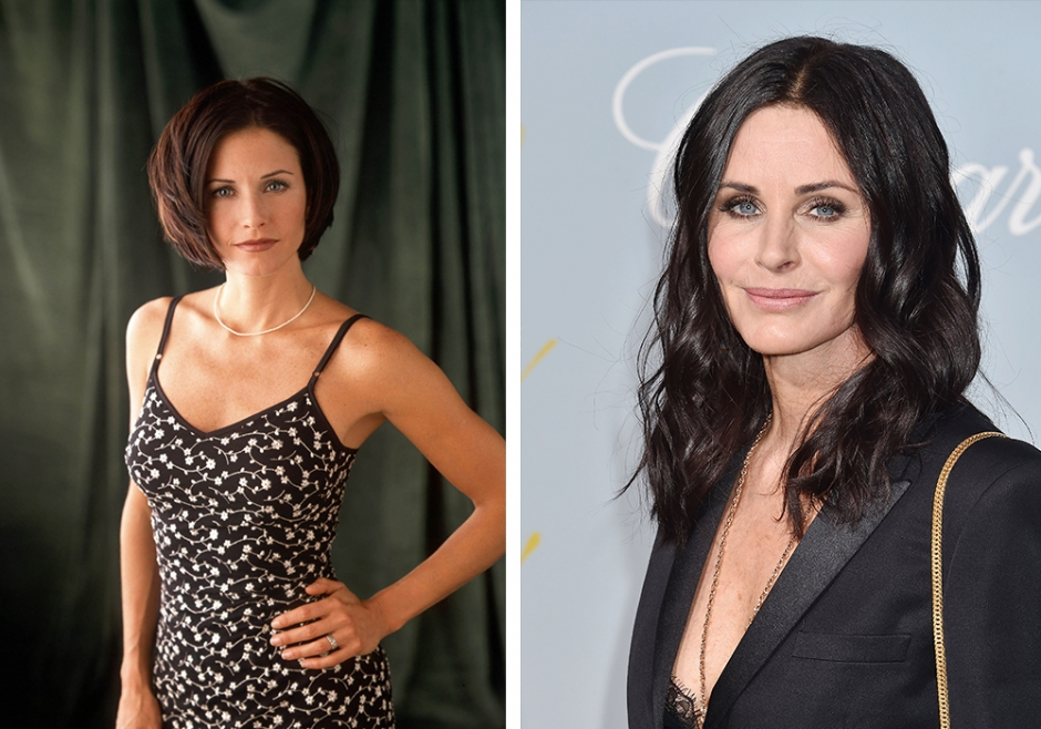 Her er Courtney Cox fra Friends i dag