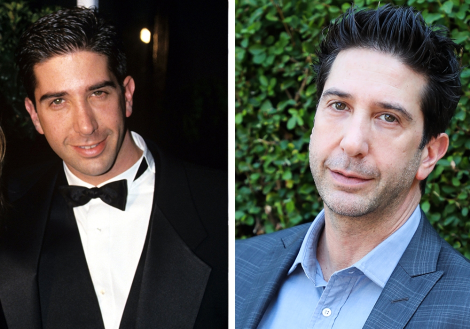 Her er David Schwimmer fra Friends i dag