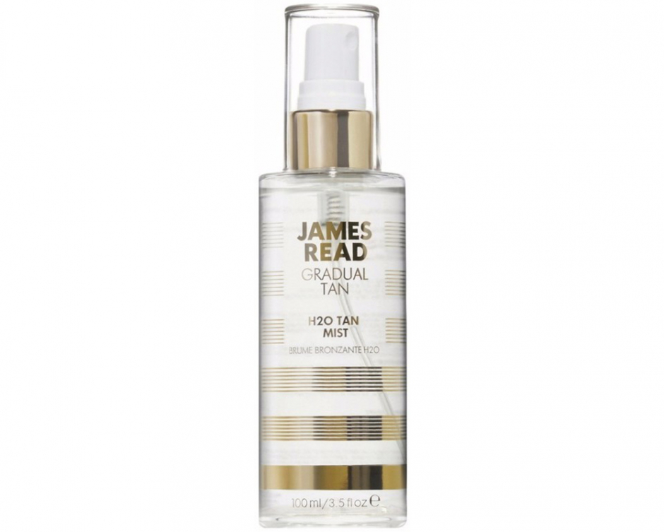 Selvbruner - Gradual tan H2O Tan mist, James Read