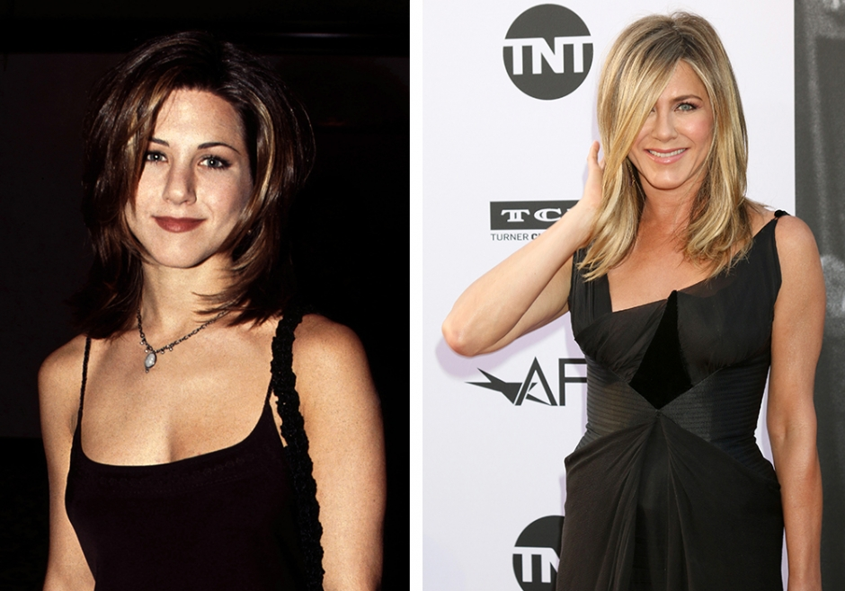 Her er Jennifer Aniston fra Friends i dag