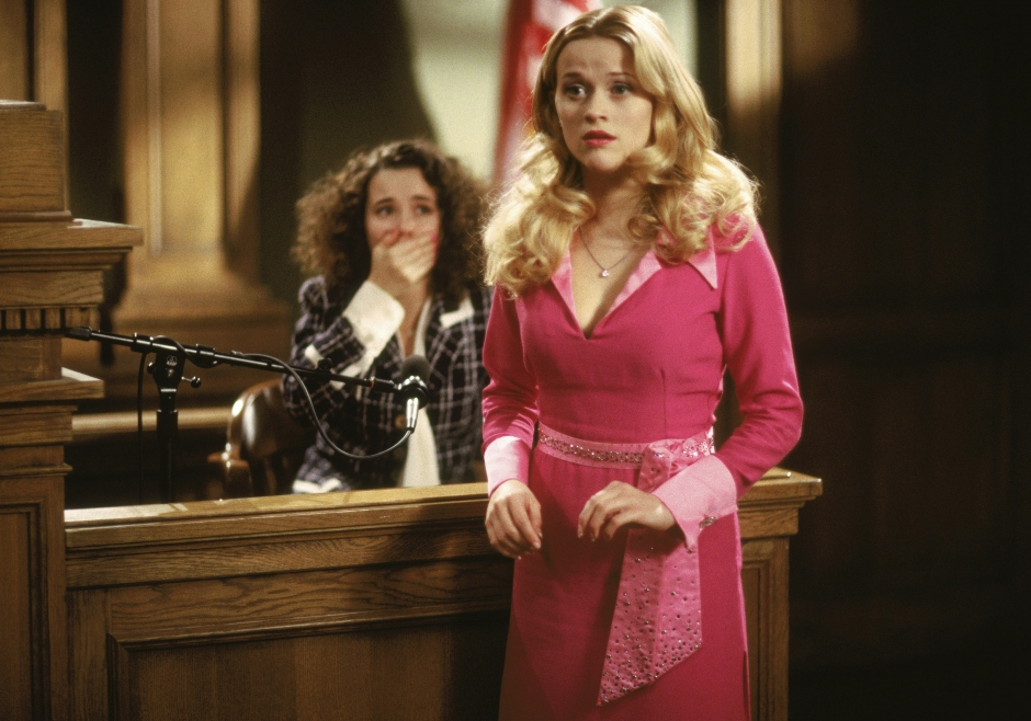 Reese Witherspoon i rollen som Elle Woods i Legally blond