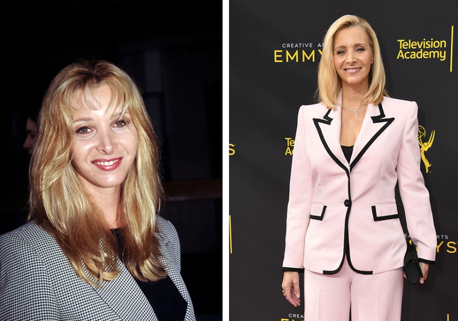 Her er Lisa Kudrow fra Friends i dag