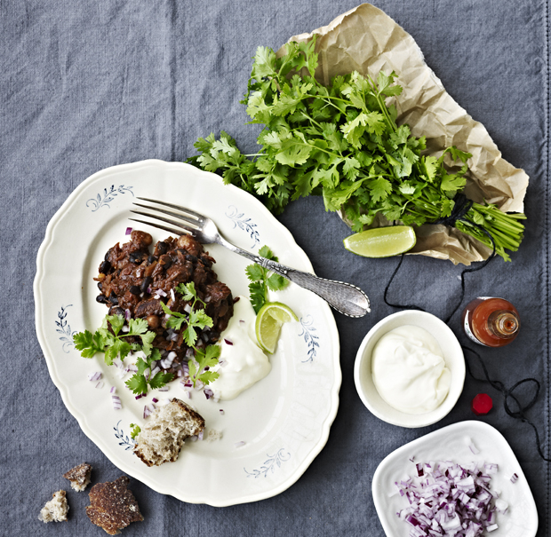 Chili con carne-opskrift