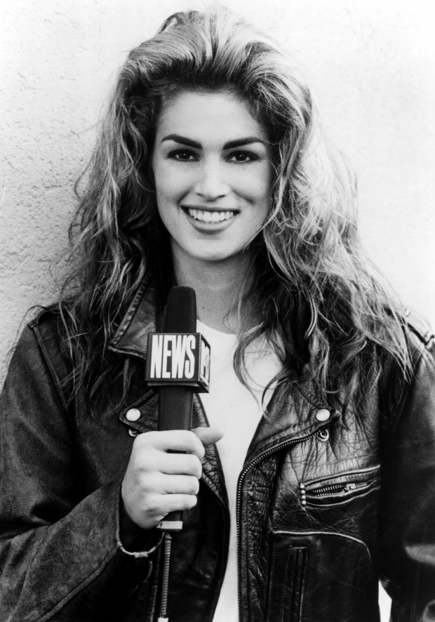 Cindy Crawford for 'House of Style'