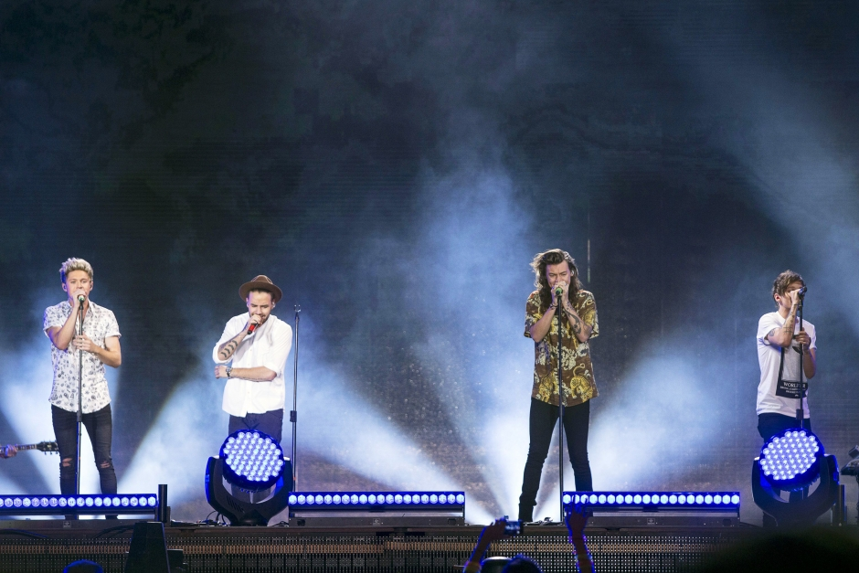 One Direction koncert uden Zayn Malik