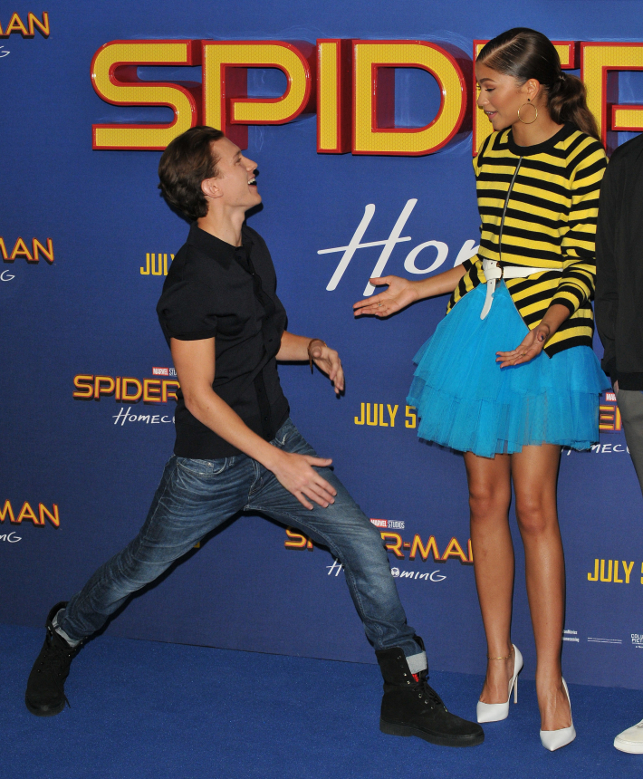 Zendaya og Tom Holland